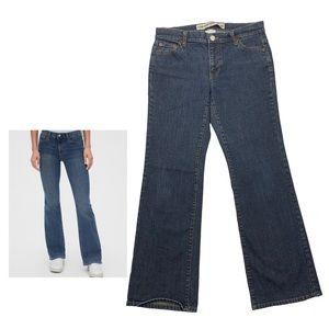 GAP Low Rise Boot Cut Jeans Stretch